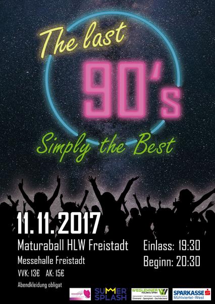 HLW Freistadt Maturaball - The last 90s